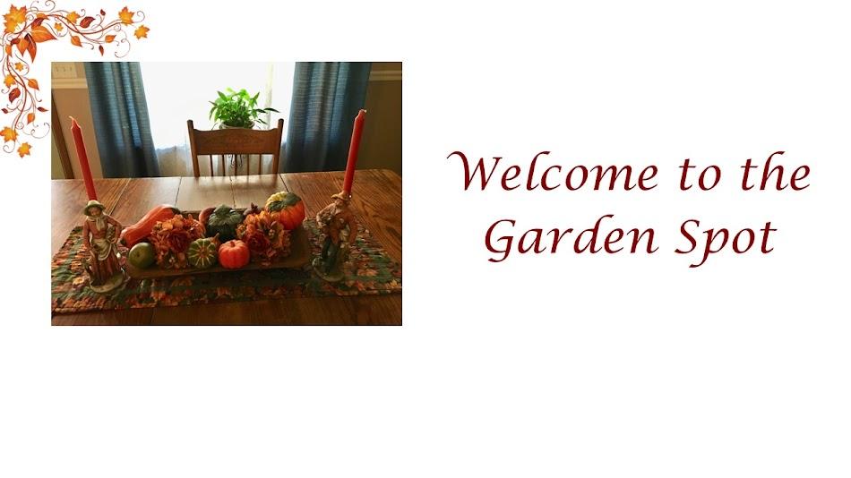 Welcome to the Garden Spot