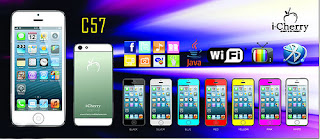 iCherry C57 Spesifikasi, Fitur dan Info Harga, Ponsel Mirip iPhone 5 Dengan TV Dual GSM