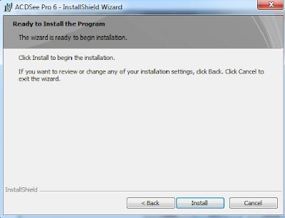 11. Click Finish to install