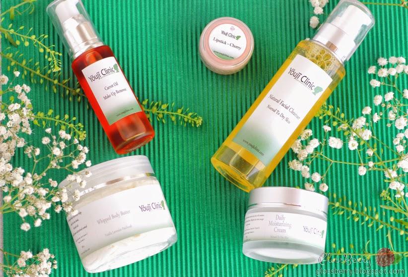 Youji Clinic יוג'י קליניק מוצרים טבעיים קוסמטיקה טבעית טבעונית הוליסטית