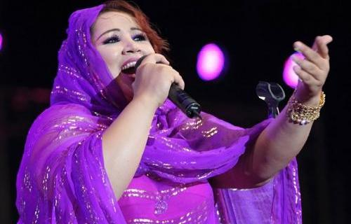 Saida Charaf, The best known singer from Sahara