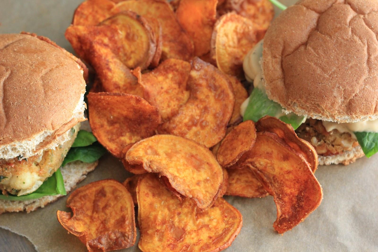 Southern Souffle: BBQ Sweet Potato Chips