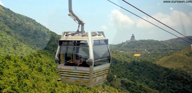 Teleférico Ngong Ping 360 de Lantau