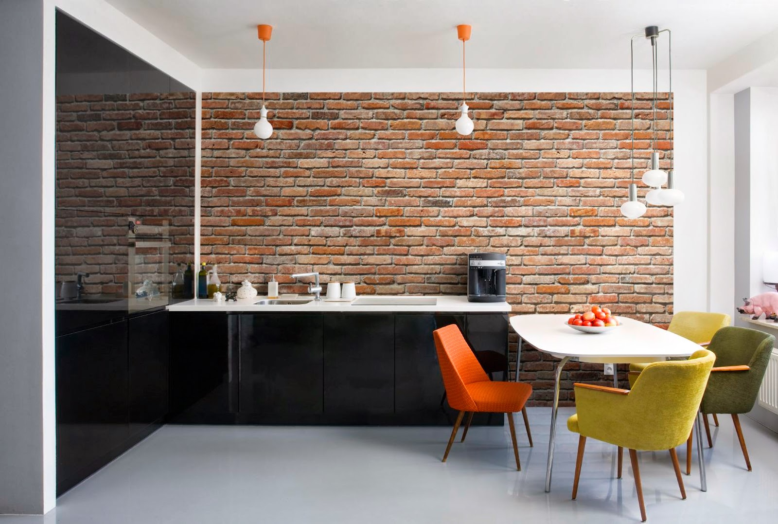 Plaquetas Decorativas Para Interiores A Continuacin Te Dejamos  ~ Plaqueta Imitacion Ladrillo Rustico