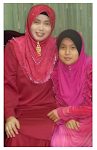 With my anak dara, miss 10... 2012