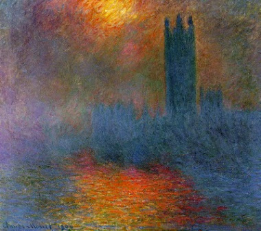 Parlamento de Londres sob a bruma /1904