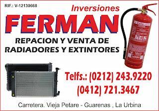 INVERSIONES FERMAN en Paginas Amarillas tu guia Comercial