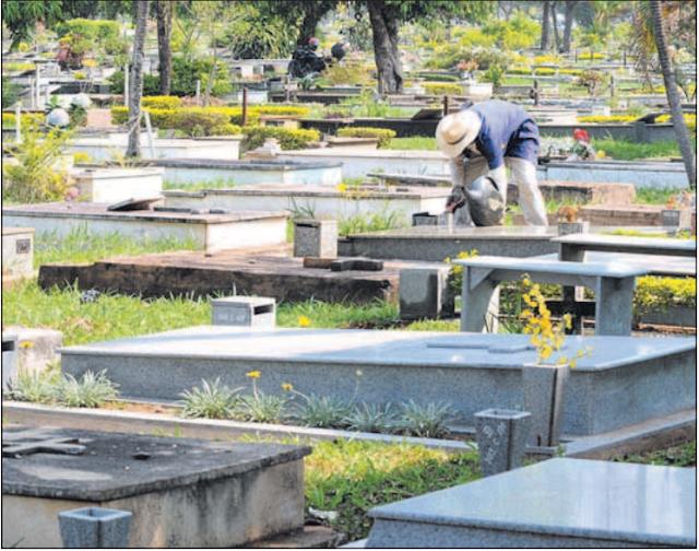 Cobiça até nos cemitérios