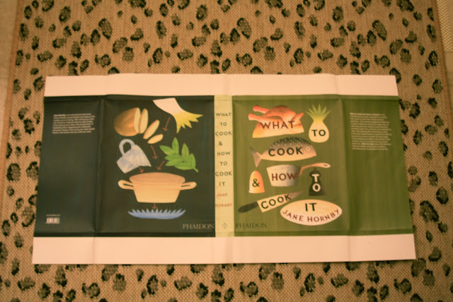 Phaidon dust jacket for What to Cook