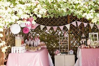 Mesas dulces ideas deco fiestas for Decoracion fiesta vintage