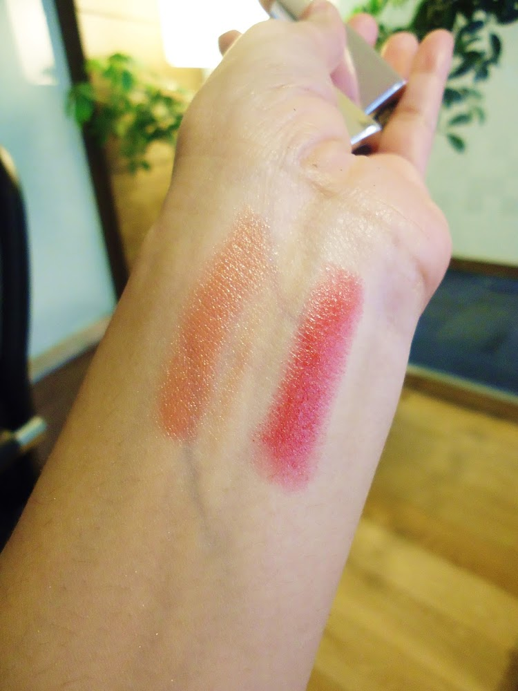 ARTDECO High Performance Lipsticks in 426 Tango Red & 457 Pearl Nude