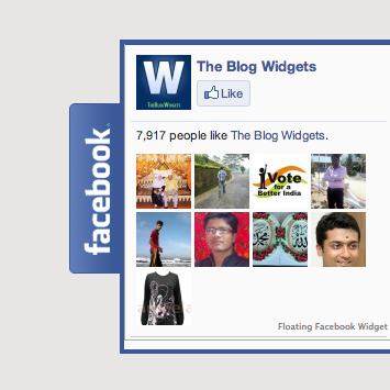 facebook widget blog