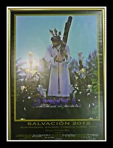 Cartel Semana Santa 2012 Stmo. Cristo de la Salvación