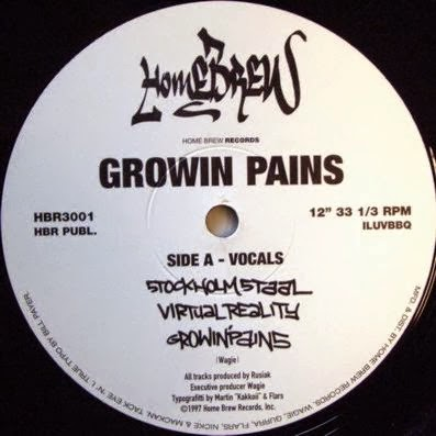 Growin Pains - Stockholm Staal