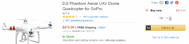 GoPro Drone Quadcopter