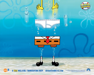 SpongeBob Square Pants Movie Wallpaper