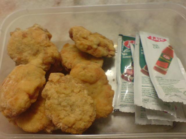 how to make tempura nuggets