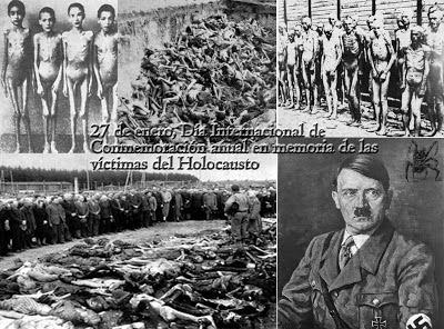 Imagenes del holocausto nazi en los campos de concentración.
