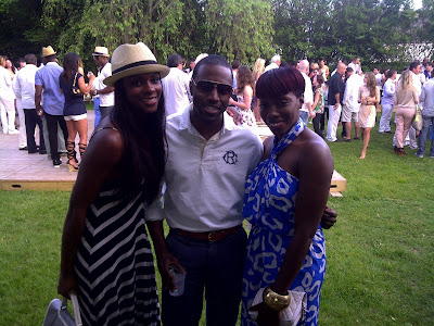 Tika Sumpter (Gossip Girl & The Game), Phaon Spurlock (LuxuriousPROTOTYPE.com) and Estelle (Music Artist)