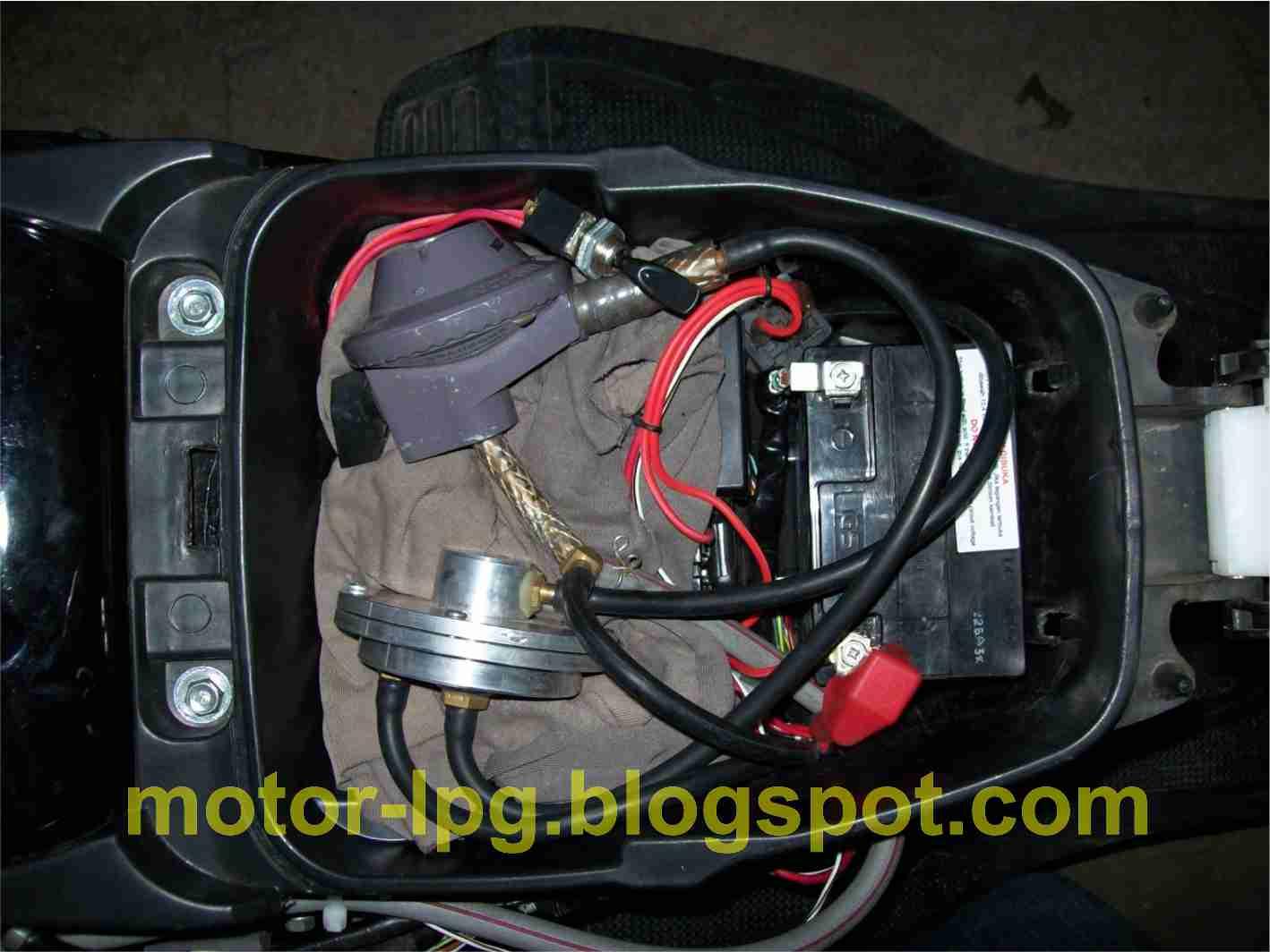 Gambar 6. Penempatan Vacumm valve, LP Regulator
