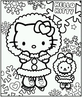 Awesome Dibujos De Hello Kitty Para Pintar Parte