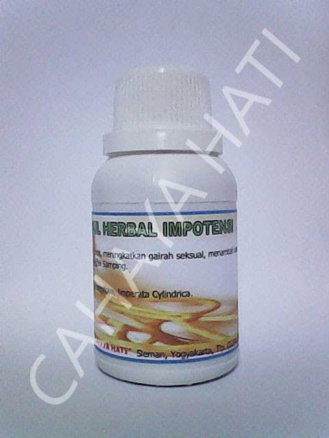 Obat Herbal Impotensi