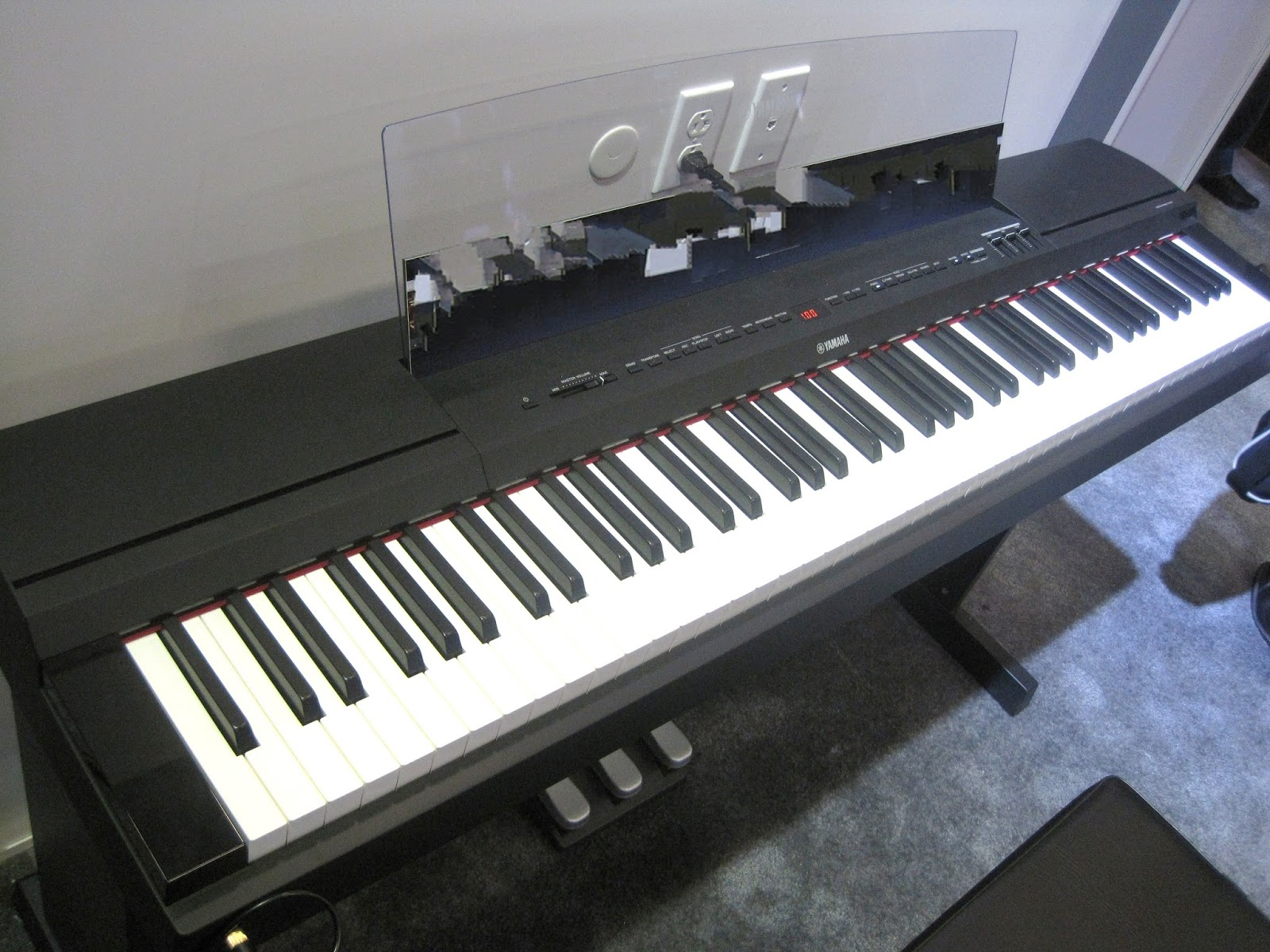 az piano reviews review yamaha p255 digital piano