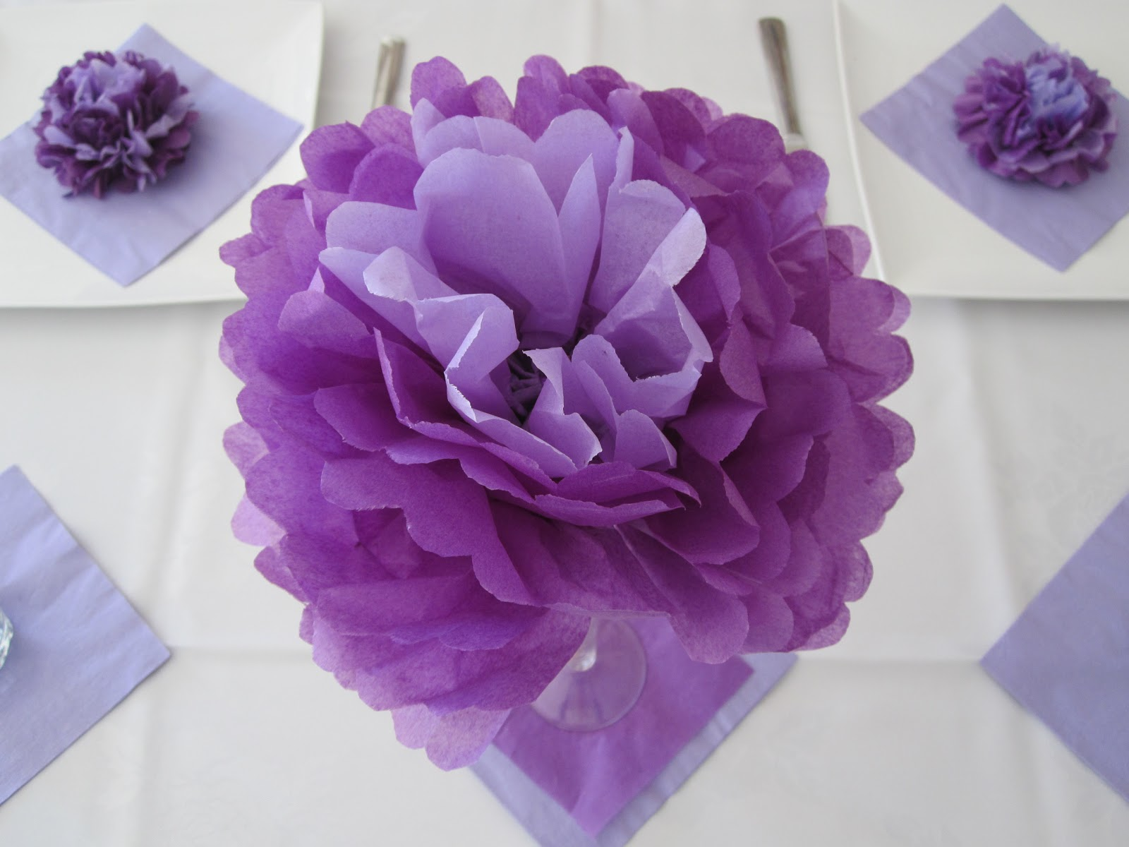 Cassadiva: How To Make Tissue Paper Flowers