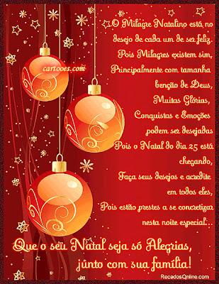 Cartões de Natal Feliz Natal 2014
