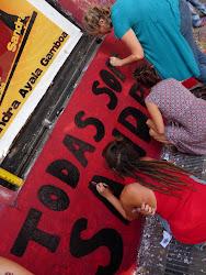 Jornada a 4 años del Femicidio de Sandra Ayala Gamboa