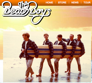 Beach Boys new website
