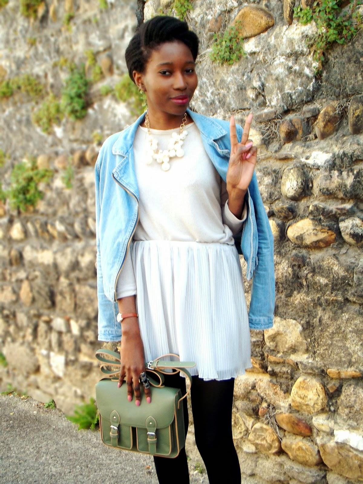 Mini jupe plissée // Good Morning Pretty