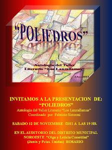 """Presentacion libro """"Poliedros"""""""