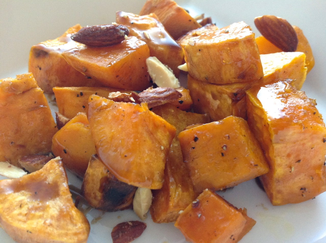 Cook In / Dine Out: Roasted Sweet Potatoes with Bourbon-Maple Glaze ...