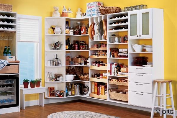 Creating Kitchen Storage Space