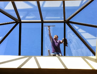 skylight cleaning in newport coast