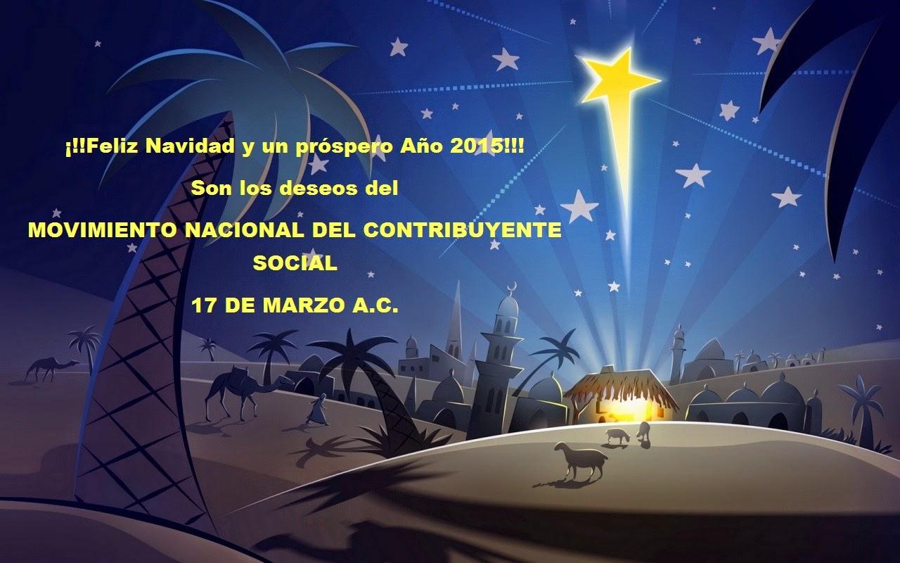 ¡¡¡Felices fiestas compañeros del Movimiento 17 de Marzo!!!