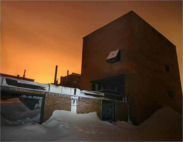 Таймыр, Норильск, фото Старый город. Промышленная часть.