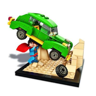 "San Diego Comic-Con 2015 Exclusive Superman ""Action Comics #1"" DC Comics LEGO Set"