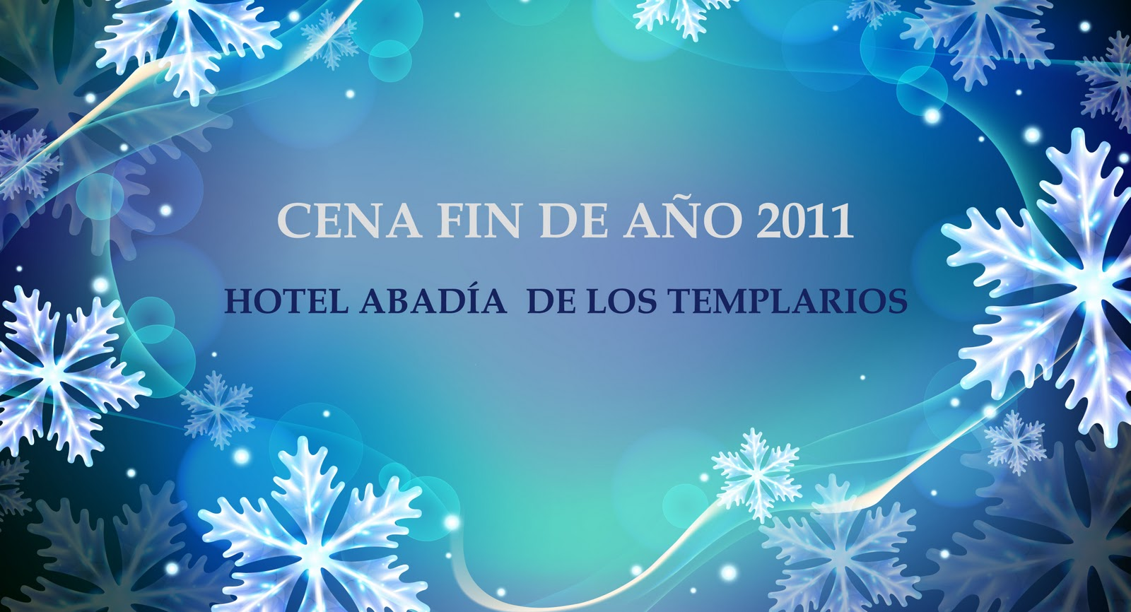 Vive la alberca con nosotros cena fin de a o 2011 en el for Cenas para fin de ano