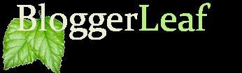 BloggerLeaf  ~ Blogger Template