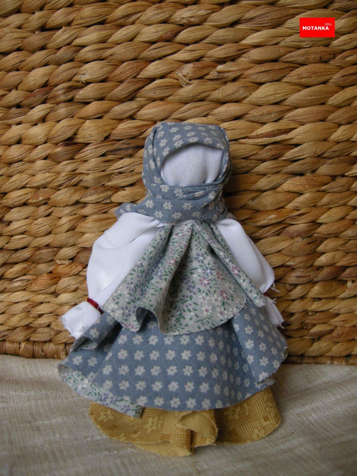 Как сделать куклу-мотанку с ткани