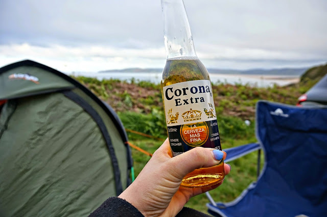 Corona while camping