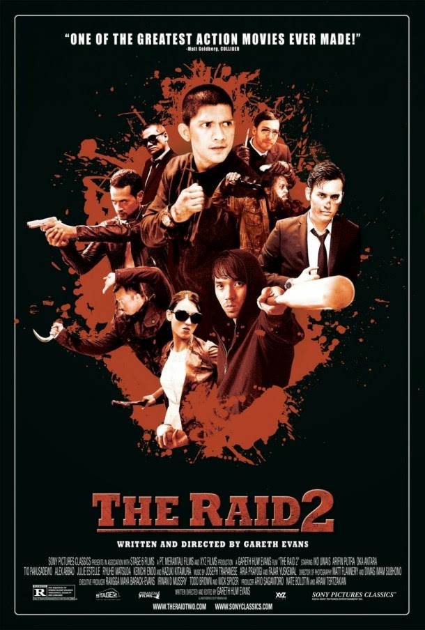 The Raid 2 Official Poster