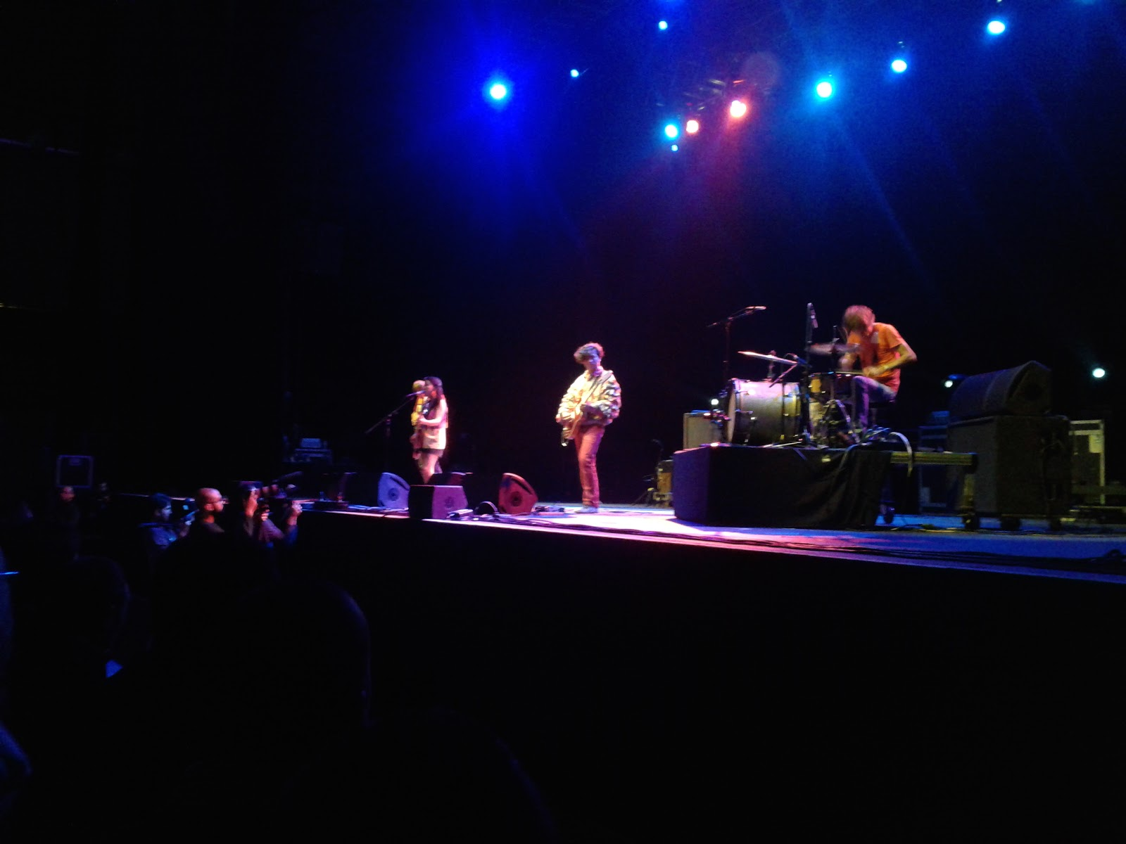 Deerhoof al Primavera Club 2012.