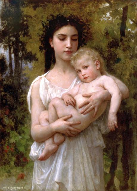 Bouguereau,art history, myth