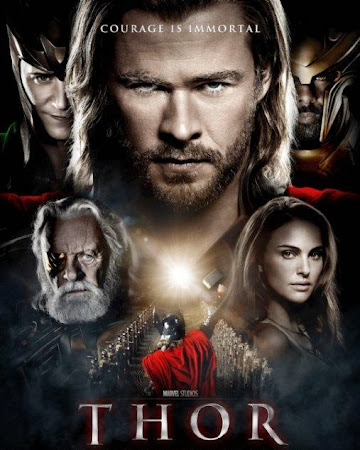 Poster Of Thor In Dual Audio Hindi English 300MB Compressed Small Size Pc Movie Free Download Only At rplc313.com
