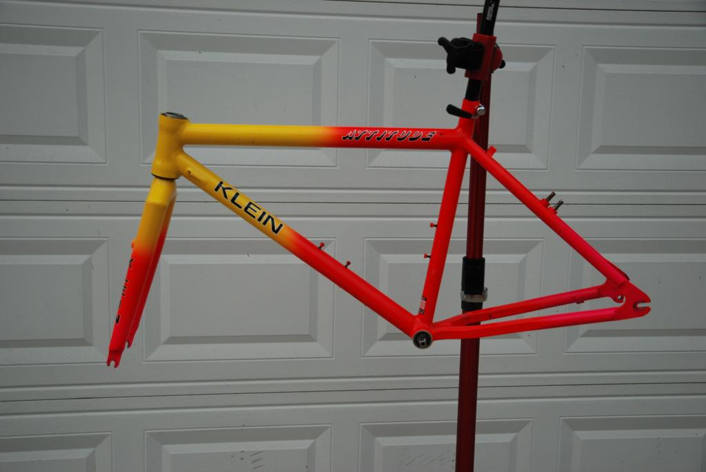 Second Spin Cycles: 1991 Klein Attitude Backfire restoration