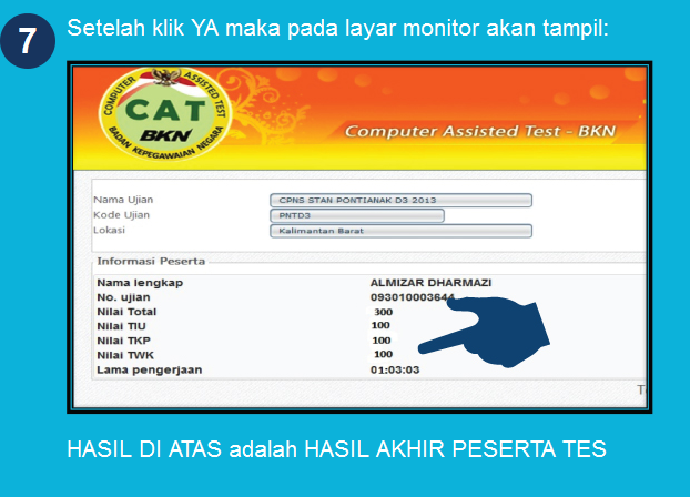 Petunjuk Teknis Penggunaan Aplikasi CAT CPNS