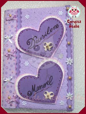 Caderno Decorado   Casamento